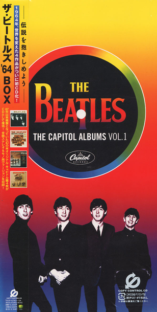 THE BEATLES - THE CAPITOL ALBUMS VOL.1