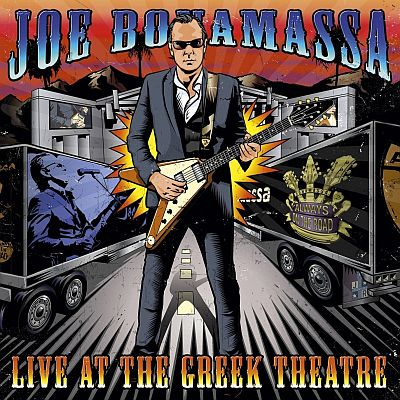 JOE BONAMASSA . LIVE AT THE GREEK THEATRE