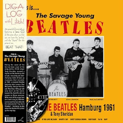 BEATLES - THIS IS...THE SAVAGE YOUNG BEATLES